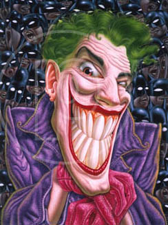 illustrations of joker art